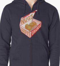 """""""Nugs Not Drugs"""" Zipped Hoodie"""