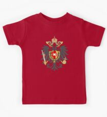 Imperial Coat of Arms of the Austrian Empire Kids Tee