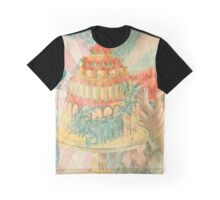 Let Them Eat Cake Graphic T-Shirt