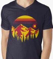 Colorado Skies Men's V-Neck T-Shirt