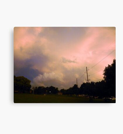 COLORFUL STORMY SKY Canvas Print