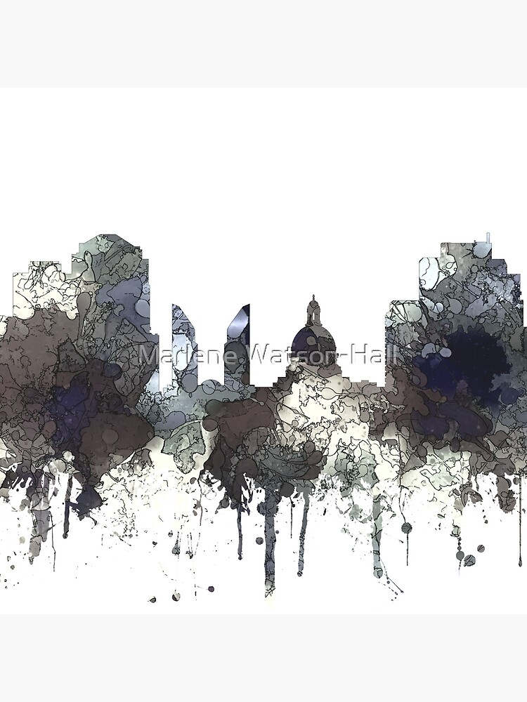 Edmonton, Alberta, Canada Skyline - CRISP von marlenewatson