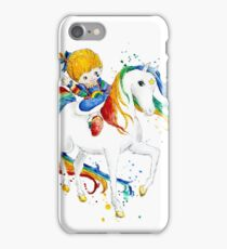 Watercolor Rainbow Brite iPhone Case/Skin