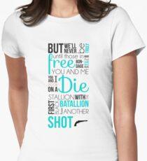 Mein Schuss - Hamilton Tailliertes T-Shirt für Frauen