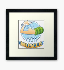 Wii Muscle Framed Print