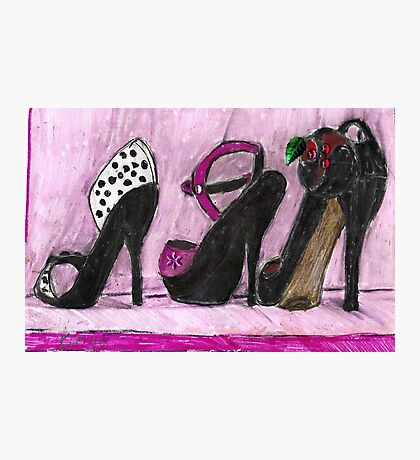 Shoes,Lets Get Some Shoes! Photographic Print