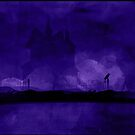 'Haunted' - Purple by katmakesthings