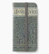 Jane Eyre Old Book Cover Design iPhone Wallet/Case/Skin