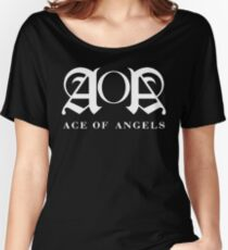 Kpop - AoA Shirt (White) Women's Relaxed Fit T-Shirt