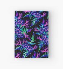 Coral Carnation - Dark blue/purple Hardcover Journal