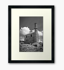 Cornish Engine House at the Prince of Wales Quarry Framed Print