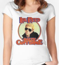 Lou Reed Sally Can't Dance Shirt Women's Fitted Scoop T-Shirt