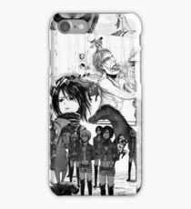 attack on titans collage  iPhone Case/Skin