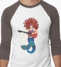 Musical Mermaid Men's Baseball ¾ T-Shirt