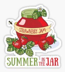 Summer in the jar Sticker