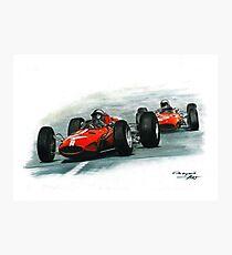 1965  Ferrari 158/Ferrari 1512 Photographic Print