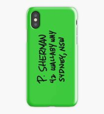 P. Sherman 42 Wallaby Way Sydney iPhone Case/Skin