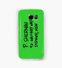 P. Sherman 42 Wallaby Way Sydney Samsung Galaxy Case/Skin
