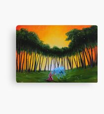 Lady and the Unicorn  Canvas Print