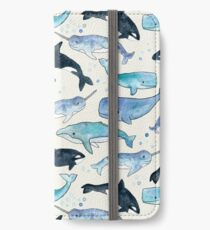 Whales, Orcas & Narwhals iPhone Wallet/Case/Skin