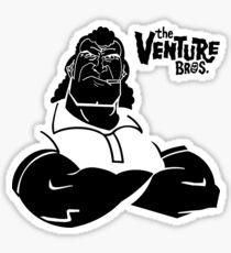 Brock Samson the venture bros Sticker