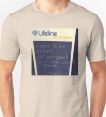Shh and throw a lifeline! Unisex T-Shirt