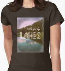 Made for the Lakes Womens Fitted T-Shirt