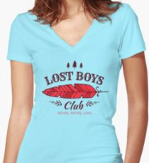 Camiseta entallada de cuello en V Lost Boys Club // Peter Pan