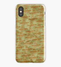 Burger Wrapper Phone Case iPhone Case