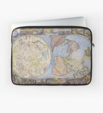 Map of Heaven and Earth 1699 Laptop Sleeve
