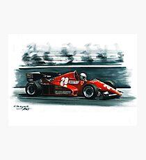 1983  Ferrari 126C2B Photographic Print