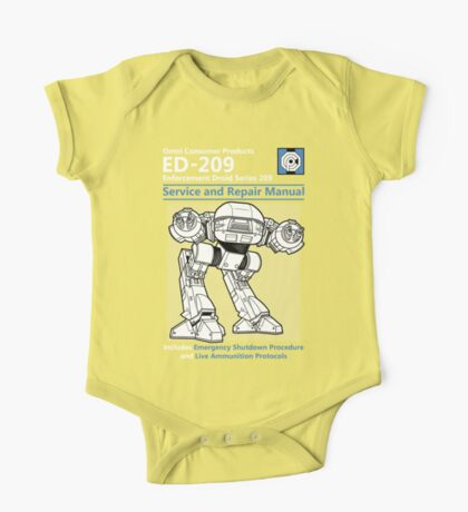 ED-209 Service and Repair Manual Kids Clothes