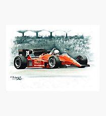 1984  Ferrari 126C4 Photographic Print