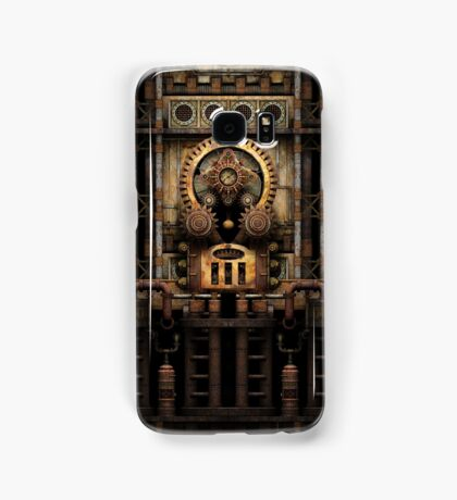 Infernal Steampunk Vintage Machine #3 Samsung Galaxy Case/Skin