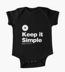 Keep it Simple One Piece - Short Sleeve