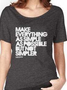 Simple Women's Relaxed Fit T-Shirt