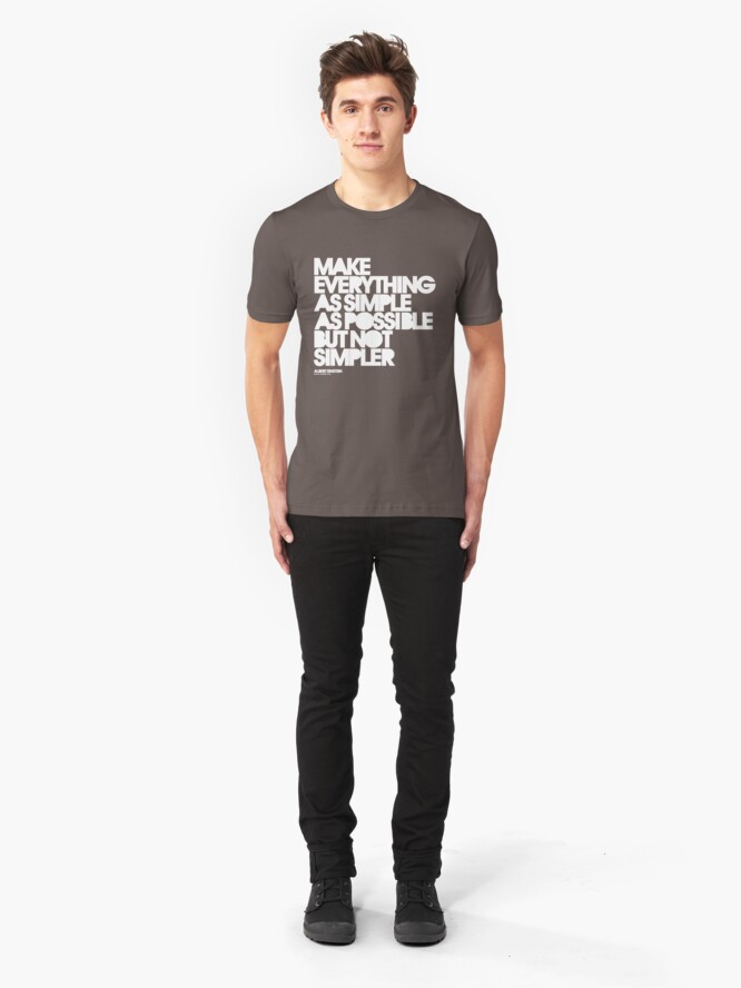 Alternate view of Simple Slim Fit T-Shirt