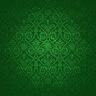 Green Vintage Victorian by graciestlou