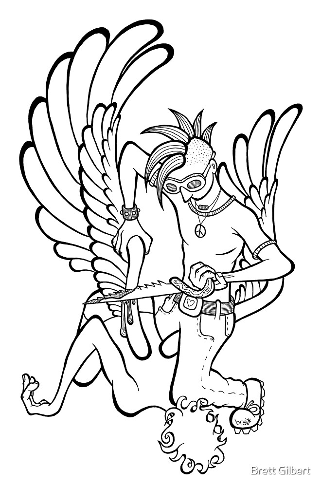 Fallen Angel by Brett Gilbert