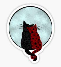 Fanart-Ladybug&Catnoir-Cats Sticker