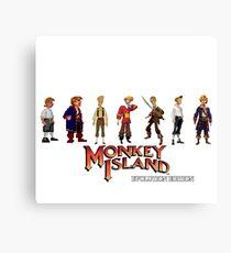 Monkey Island Guybrush - Evolution Edition Canvas Print