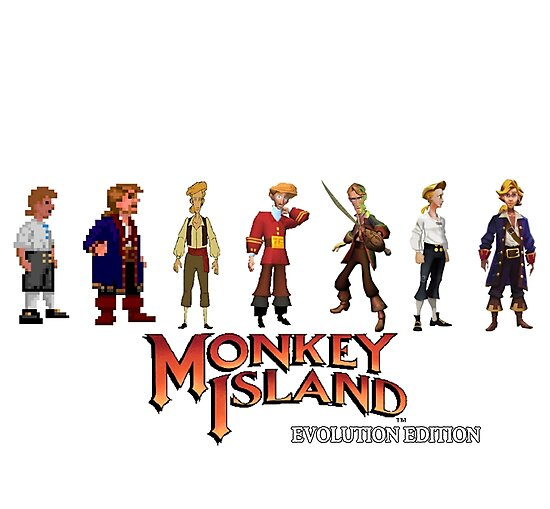 Monkey Island Guybrush - Evolution Edition by Siobhan Franks