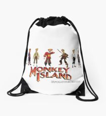 Monkey Island Guybrush - Evolution Edition Drawstring Bag