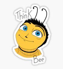Bee movie think bee Sticker