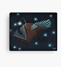 Angler fish Canvas Print