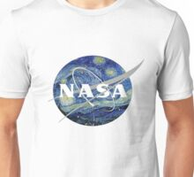 NASA- Van Gogh themed Unisex T-Shirt