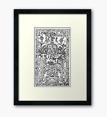 K'inich Janaab Pakal I - Mayan 'Astranaut' Framed Print