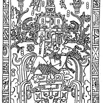 K'inich Janaab Pakal I - Mayan 'Astranaut' by los-ancients