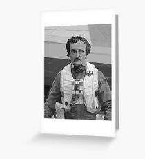 Edgar Allan Poe Dameron Greeting Card