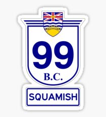 BC 99 - Squamish Sticker